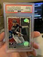 2011 Topps Update Charlie Blackmon Diamond Anniversary Rookie RC PSA 10 Gem Mint