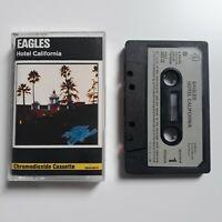EAGLES HOTEL CALIFORNIA CASSETTE TAPE 1976 PAPER LABEL WARNER ASYLUM
