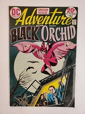 ADVENTURE COMICS #428 (FN-) 1973 BLACK ORCHID COVER & APPEARANCE; ORIGIN ISSUE