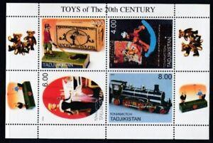 TAJIKISTAN (Unofficial Issue) 20th Century Toys MNH souvenir sheet