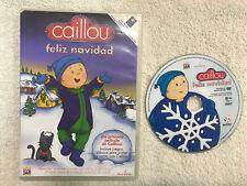 CAILLOU FELIZ NAVIDAD LA PELICULA INCLUYE JUEGOS DIBUJOS PARA PINTAR Y CANTA DVD
