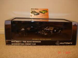 1:43 Autoart Ford XB GT Falcon Mad Max 2 Interceptor , Landau Enemy Car Set
