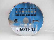 Karaoke Chart Hits Music DVD Eminem Pink Blink 182 Timberlake Minogue NO CASE