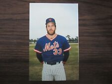 1986 Tcma New York Mets Barry Lyons Postcard