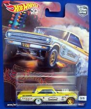 2018 Hot Wheels DRAG STRIP DEMONS '65 DODGE CORONET Real Riders