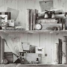 Decoración de paredes de color principal negro de madera para el hogar