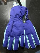 Mountain Warehouse Kids Ski Glove Childrens Stretch Cuff Padded Snowproof Gloves