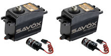 2 pack Savox SC-0252MG Metal Gear Digital Servo + 2 Glitch Busters JR FUTABA