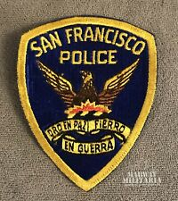 Early, SAN FRANCISCO California Police Patch  (22210)