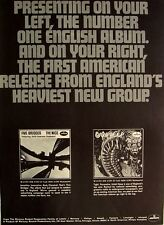 Uriah Heep very eavy very umble The Nice five bridges 1970 Poster Ad Mercury