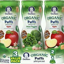 Gerber Organic Puff Value Pack