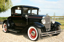 Ford Model A Coupe V8 Hot Rod, All Steel. Now Sold .We're always buying Hot Rods