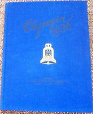 Olympia 1936 Band 1  Olympische Winterspiele in  Garmisch &  Vorbereitung Berlin