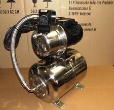 T.I.P Hauswasserwerk HWW 1300 INOX mit Trockenlaufschutz und Vorfilter HWF Pumpe
