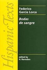 Bodas De Sangre (Hispanic Texts)