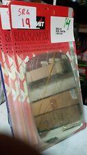 FORD FIESTA 83- RH MIRROR GLASS SELF ADHESIVE