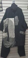 African/Heavy/Masai/Mask Clothing/Coat/Unisex C-BLK11BLACK23567-C1BLK