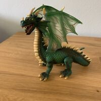 """Schleich 2003 6"""" Green Winged Dragon Figure - Dungeons Dragons / D&D"""