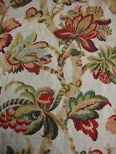 180cm Schumacher Kelmscott Manor 100% linen curtain upholstery fabric remnant