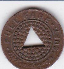 New listing Seattle, Washington (King County) Municipal Railway Transit token 1919
