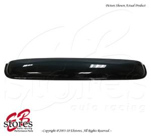 "Smoke Tinted 3mm Sunroof Moonroof Wind Visor 980mm 38.5"" 2009-17 Chevy Traverse"