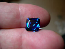 SOMPTUEUX SAPHIR VERNEUIL CORNFLOWER BLUE 12x12 mm 10,80cts..IF
