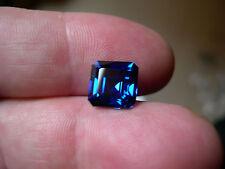 SOMPTUEUX SAPHIR VERNEUIL CORNFLOWER BLUE 12x12 mm 10,80cts..IF