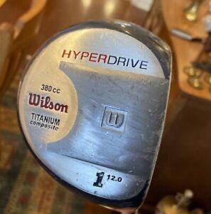 Wilson Hyperdrive 380cc Titanium Composite Driver 12* / RH / Ladies Graphite