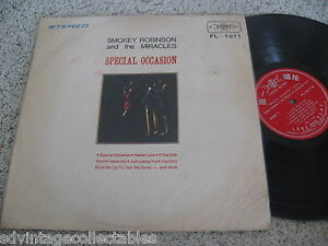 Smokey Robinson Miracles Record LP Special Occasion IMPORT Taiwan r&b soul