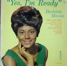"BARBARA MASON~""YES,I'M READY""~ORIGINAL ARTIC -1000 ""VG+/VG""~LP!!!"