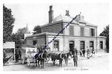 rp13538 - Railway Station , Carteret , France - photo 6x4
