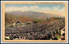 CALIFORNIA Postcard - Hollywood Bowl F18