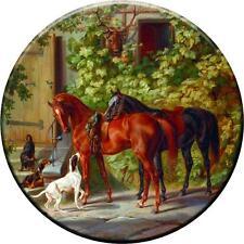 SPARE WHEEL COVER STICKER HORSES & DOG CUSTOM DESIGN PERSONALISED VINYL SKIN