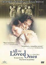 All My Loved Ones, Good DVD, Rupert Graves, Josef Abrhám, Jirí Bartoska, Libuse