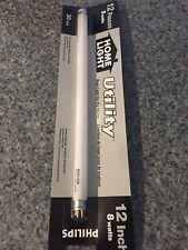 Philips 39144 Linear Fluorescent 8 Watt 12 Inch T5 Cool White Light NEW