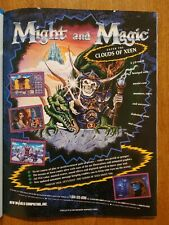 Might and Magic IV: Clouds of Xeen Video Game Print Ad Advertisement 1992