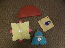 Very Vintage Lot Red Honeycomb Ball and Colorful Tissue Garlands Festooning