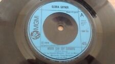 """GLORIA GAYNOR NEVER CAN SAY GOODBYE 1974 UK MGM RECORDS 7"""" 45 2006 463"""