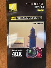 Nikon Coolpix B500 16 MP 40 X Optical Zoom Digital Camera W / Built-in Wi - Fi