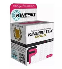 "Kinesio Tex Kinesio Tape Tex Gold FP, 2"" x 103.3 Ft. in Red Brand New"