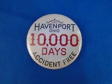 THE LIBRARIANS TV Prop Havenport 10,000  Days Accident Free Button EP #408