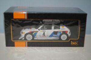 IXO 1:18 Diecast Audi Sport Quattro RAC 1985 RMC048B