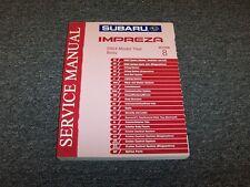 2004 Subaru Impreza Shop Service Repair Manual Section 8 Body RS TS 2.5L