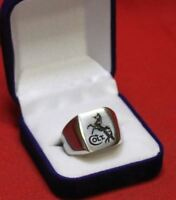COLT FIREARMS Colt Stainless Steel Ring Size 13