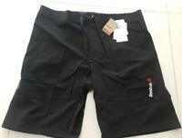 Reebok Mens Speedwick Training Shorts Black Stretch Cordura Fabric Size S W32