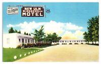 Mid-1900s New Ulm Motel, New Ulm, MN Postcard