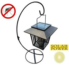 4-pk Solar Mosquito Insect Bug Zapper LED Lamp Lights Outdoor Mosquito Repelling