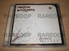La Paciencia De La Araña by Los Caballeros De La Quema (CD) MADE IN ARGENTINA