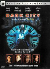 Dark City ~ Kiefer Sutherland Rufus Sewell William Hurt ~ Dvd ~ Free Shipping