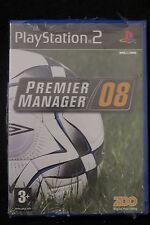 PS2 : PREMIER MANAGER 08 - Nuovo, risigillato, ITA ! Una nuova stagione !